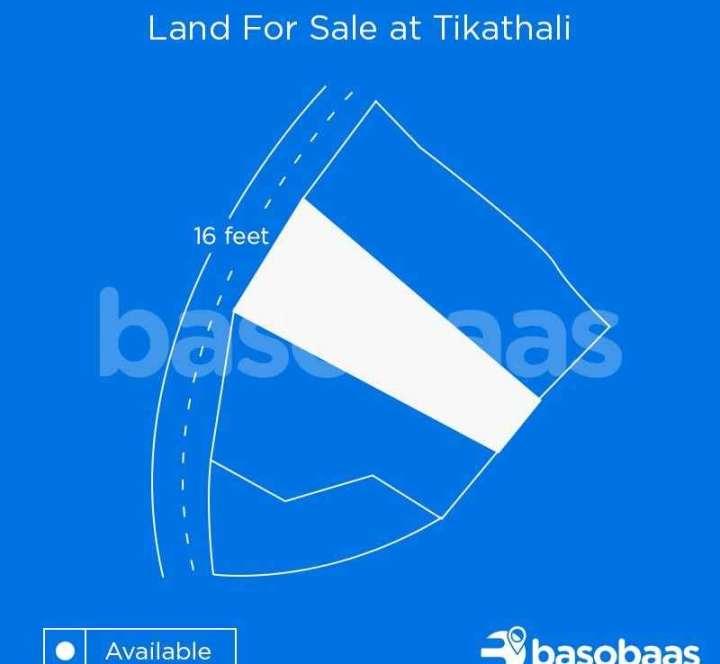 Land on Sale at Tikathali