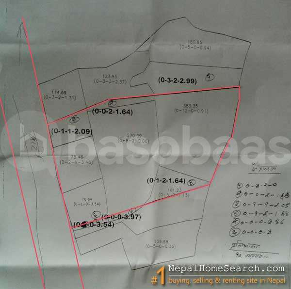 Land on Sale at Sanepa