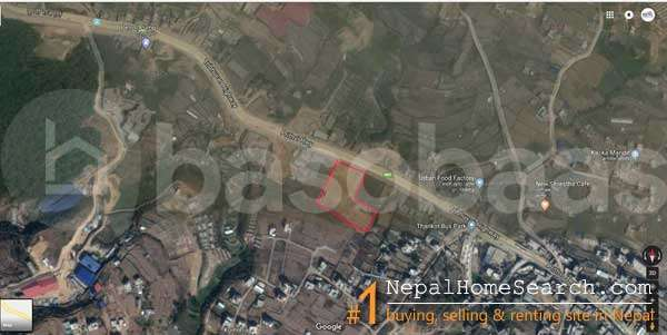 Land on Sale at Thankot