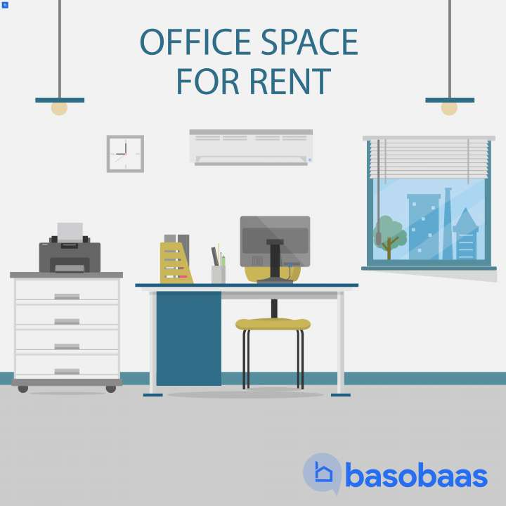 Office Space for Rent in Babarmahal