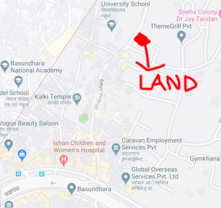 Land for Lease in Dhapasi