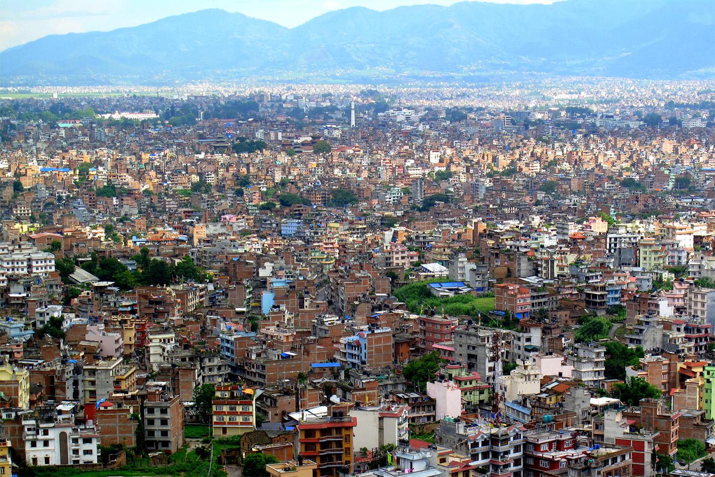 काठमाडौं महानगरपालिकाको भवन निर्माण मापदण्ड।