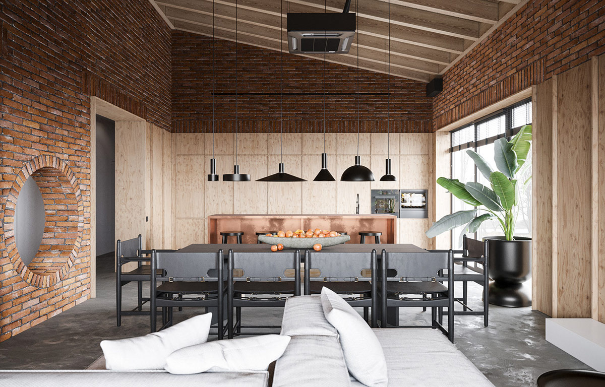 Copper Infused Industrial Style Home for your Inspiration